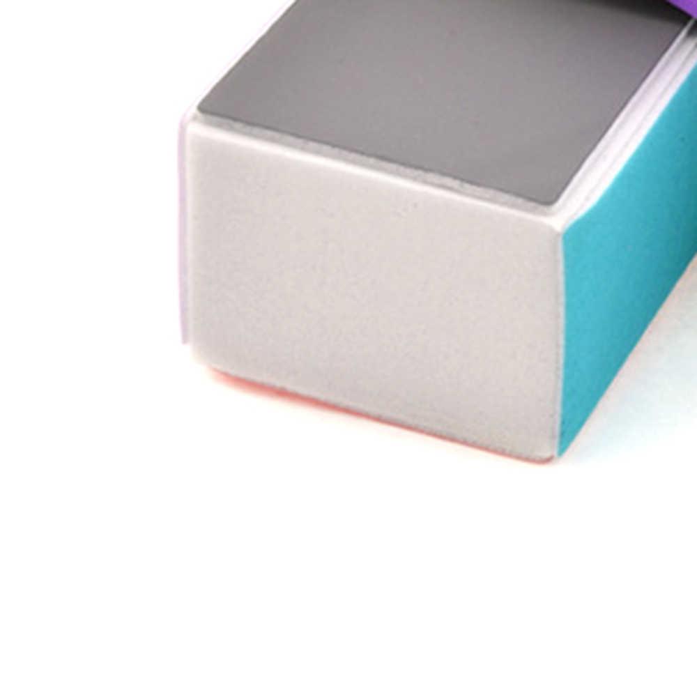 1 Pcprofessional Kleurrijke Nail Art Buffers Schuren Polijsten Blok Nail File Buffer Pedicure Professionele Nail Art Tool