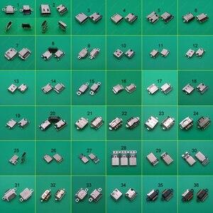 Image 1 - 36 Mẫu 36PC Micro USB Kết Nối Loại C Nữ Sạc Dock Sạc Cắm Cổng Loại C Ổ Cắm Jack dành Cho Xiaomi 5 Redmi Huawei Honor