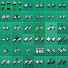 36Model 36 Pc Micro Usb Type C Connector Vrouwelijke Charging Dock Poort Plug Type C Socket Jack voor Xiaomi 5 Redmi Huawei Honor