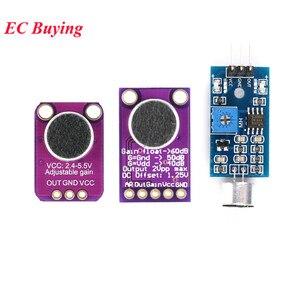 Eletret микрофон усилитель модуль стабильный MAX9814 MAX4466 датчик для Arduino Авто усиление переключатель управления звук