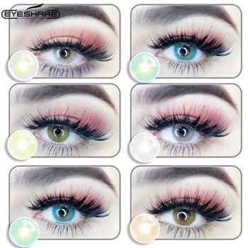 EYESHARE- 1 Pair Bitas Ocean Color Beautiful Pupil Contact Lenses Cosmetic Contact Lens Eye Lenses(2pcs) 1