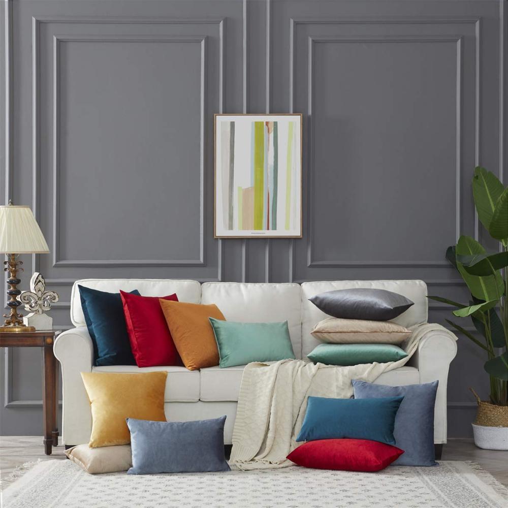 כריות בצבע שמפניה לסלון או חדר השינה 3