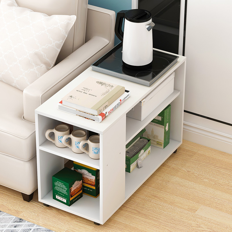 Minimalist Modern Removable Small Coffee Table Mini Sofa Side Cabinet Side Table Small Cabinet Bedside Table Small Tea Table Sma