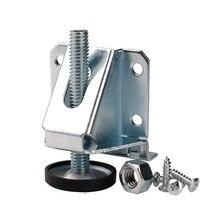 4 個調節可能なレベリング足ヘビーデューティ炭素鋼ajusterレベリングブレーキシフトペダルフットレバー用キャビネット