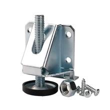 4 szt. Regulowane nóżki do poziomowania Heavy Duty ze stali węglowej Ajuster Leveling noga dźwigni do szafki