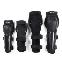 4pcs/set Bicycle Racing Knee Pads Protective Guards Armor Gear PE Skateboarding Protector set Elbow Knee Arm
