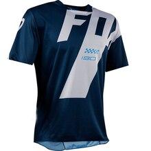 202 Moto Bicycle JerseyShort Sleeve Cycling Enduro Mtb Shirt Downhill T-shirt Camiseta Motocross Mx Mountain Bike Clothing Fox