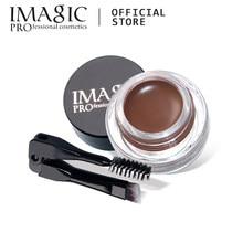 Imagic sobrancelha profissional impermeável longa duração maquiagem sobrancelha creme gel cosméticos