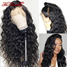 Frontal-Wigs Human-Hair-Wigs Lace-Front Deep-Wave Ali-Annabelle Loose 360-Lace Brazilian