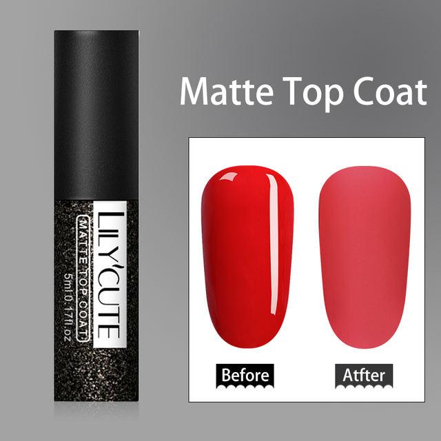 LILYCUTE 5ml Matte UV Gel Nail Polish