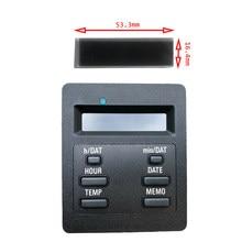 Tela lcd para carro bmw e28 e30, bordcomputador, bc1, tela do computador obc 325i 318i 325ix 528 525i 535i 62131377803
