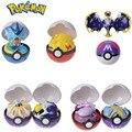 TOMY Pokemon Action Morphing Pokeballs Transformation PIKACHU Charizard Mewtwo Blastoise Venusaur Gyarados Spielzeug Für Kinder Geschenke