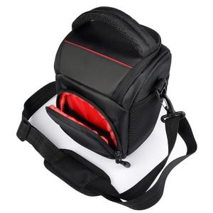 Image 3 - Сумка для камеры, наплечный чехол для Sony Alpha A6500 A6300, сумка для камеры, чехол для Canon EOS M50 M6 DSLR, чехол для объектива Nikon D3200 D3400