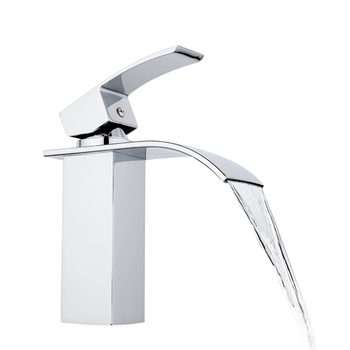 GAPPO water mixer tap Basin sink Faucet bathroom basin faucet mixer tap brass faucet waterfall basin faucets single hole tap 8