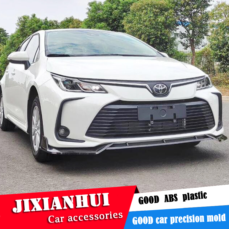Bumper Cover Kit For 2014-2016 Toyota Corolla Front CAPA 2 Pieces