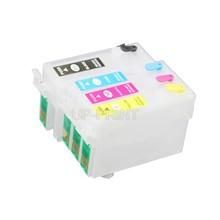 UP – cartouche d'encre rechargeable T1271 127 XL, 1 ensemble, avec puce ARC, compatible avec imprimante Epson 545 645 840 845 WF-3520 3540 7510 7520