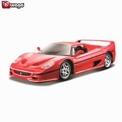 Bburago 1:24 Ferrari F50 коллекция производитель Авторизованная литая модель машины образец прикладного искусства украшения коллекция игрушка