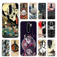 Silicone Case for Xiaomi Redmi Note 7 8 9 Pro Max 8T 9S 6 6A 7A 8A K20 K30 Pro Cover Shell Coque apanese style Art Japan silicone case for xiaomi redmi note 7 8 9 pro max 8t 9s 6 6a 7a 8a k20 k30 pro cover shell coque love death