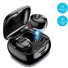 XG12 TWS Bluetooth 5.0 אוזניות אלחוטי אוזניות סטריאו HIFI צליל ספורט אוזניות דיבורית משחקי אוזניות עם מיקרופון עבור טלפונים