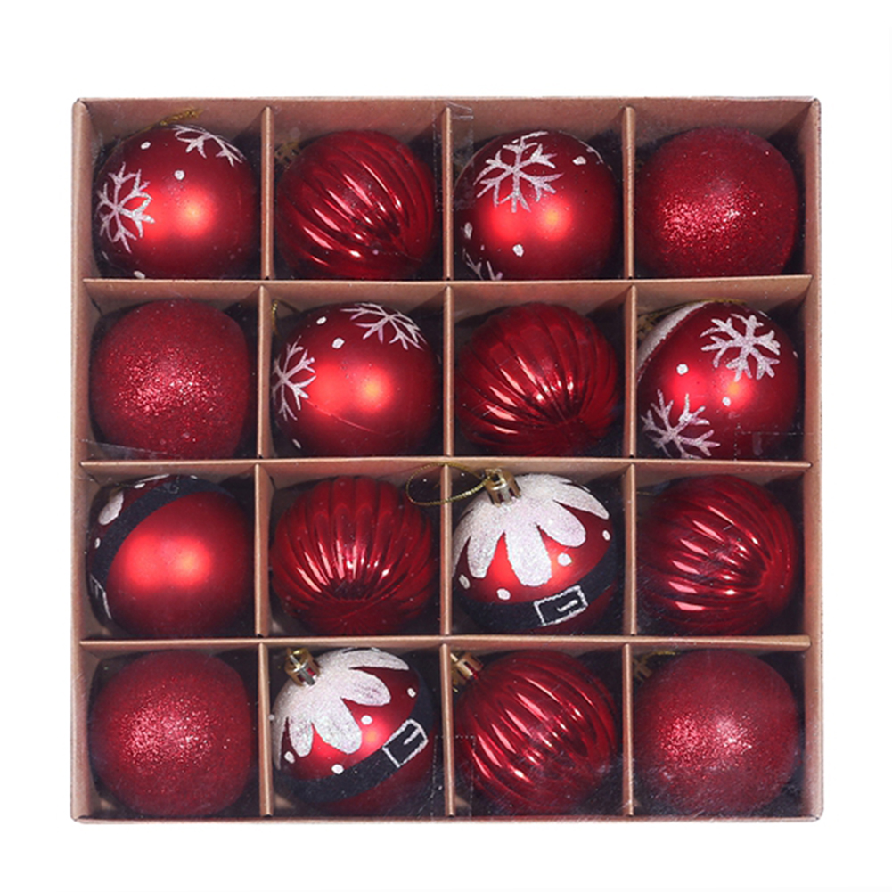 16 x Christmas Tree Baubles 9