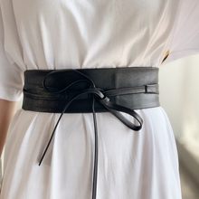 Women Dress Belt Vintage-Style Soft High-Quality Solid Sheepskin Seasons Can-Be-Matched
