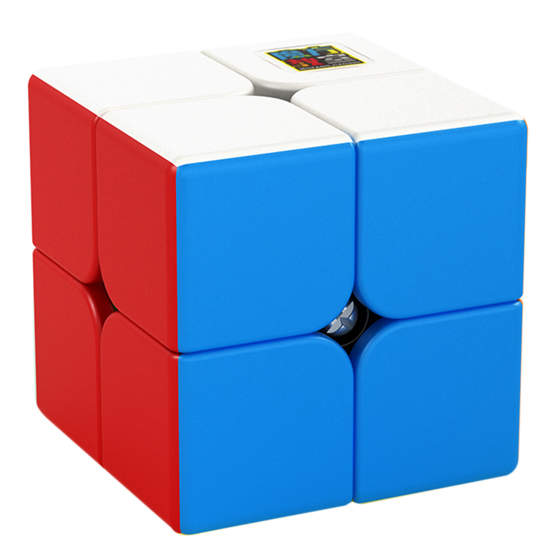 Surwish MF8861 Cubing Classroom Meilong2 2x2x2 Magic Cube 2X2 Magico Cubo Education Toys For Children Adults Gift  - Colorful