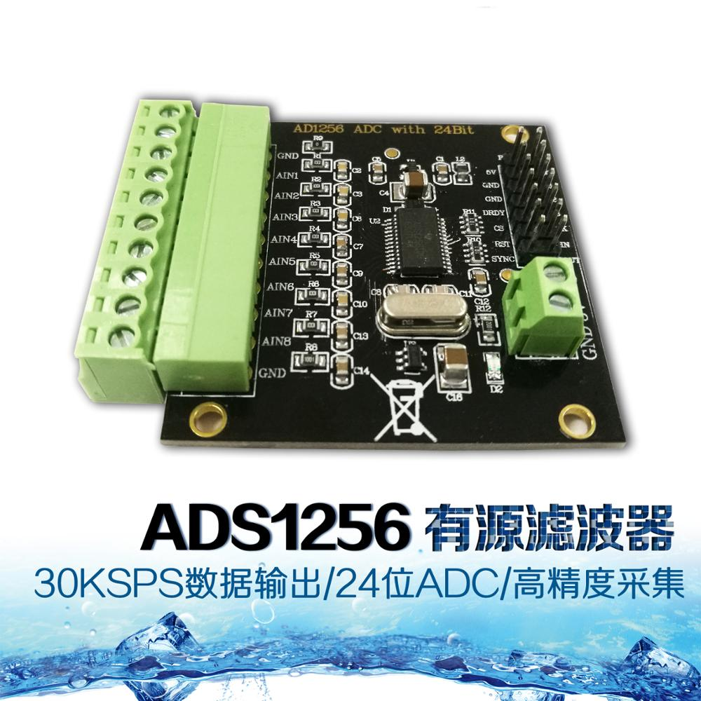 Dawupine ADS1256 24-bit ADC AD Module High Precision ADC Acquisition Data Acquisition Card Analog To Digital Converter