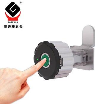 Smart Fingerprint Lock Cabinet Lock Biometrics Lock Electric Lock for Strongbox Mailbox APP Control недорого