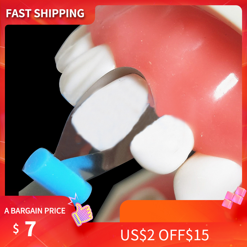 Dental Twin Anterior Matrices Dental Orthodontic Sectional Contoured Metal Matrice Polyester Matrice