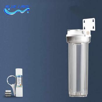 Fabryka sprzedaż bezpośrednia 10 cal pojedyncze poziom filtr do wody 1 mikronów PP bawełna filtr filtr osadów kuchnia filtr wstępny filtr do wody tanie i dobre opinie KELAN Gospodarstw domowych pre-filtracja 10inch Bezpośredni drink Ultrafiltracji Kuchnia Ściany Terminal oczyszczanie