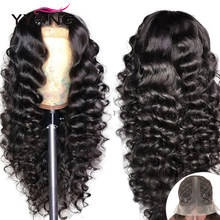 YYong 13x1&1x6&1x4 Part Lace Wig Remy Brazilian Loose Deep Transparent Part Lace Human Hair Wigs 30 32in Long Wig Preplucked