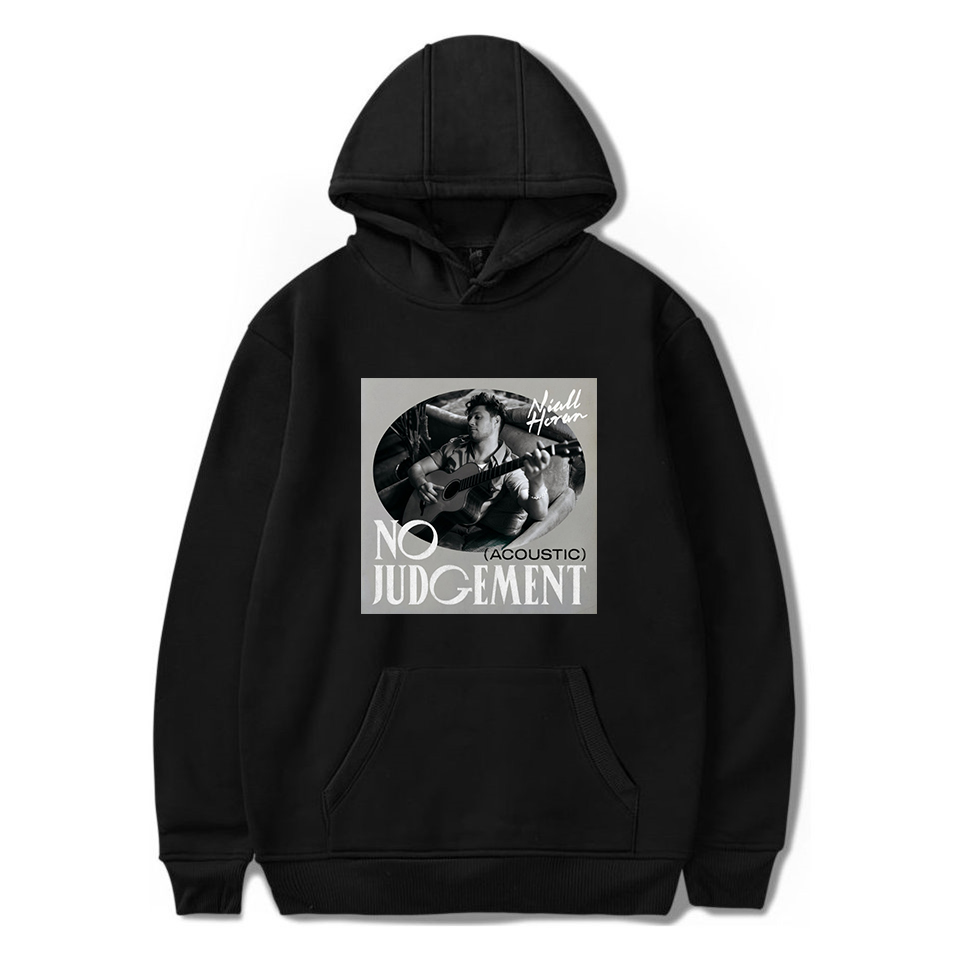 2020 Niall Horan No Judgement Hoodie Men Women Sweatshirts Streetwear Harajuku Tops Fashion Korean Clothes Winter Clothes Women