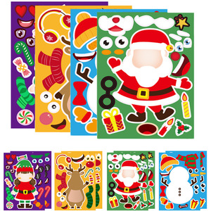 Stickers Puzzle Games Kids DIY