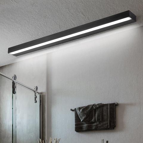 40 70 centimetros levou espelho do banheiro lampada de parede de luz de aluminio escada