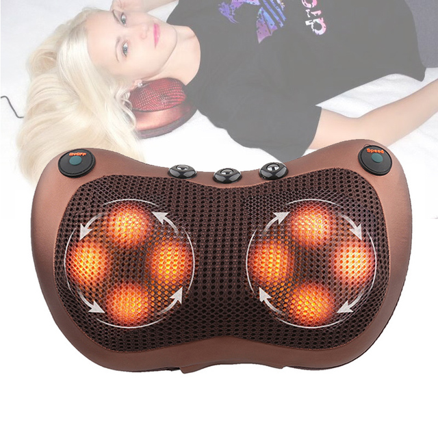 Neck Shoulder Back Heating Infrared therapy Massage Pillow