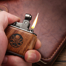 Stainless Steel Lighters Metal Kerosene Oil Lighter Gasoline Windproof Refillable Men Cigarette Oil Lighter Cigarette Accessorie zorr lighter gasoline lighter kerosene oil petrol lighter refillable cigarette metal retro men gadgets bar lighters