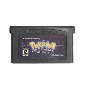 Image 1 - For Nintendo GBA Video Game Cartridge Console Card Poke Series Light Platinum English Language US Version