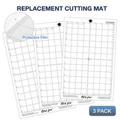 3 шт. прозрачная запасная часть режущий коврик липкий коврик с измерительной сеткой 8 на 12 дюймов для silhouette Cameo плоттер
