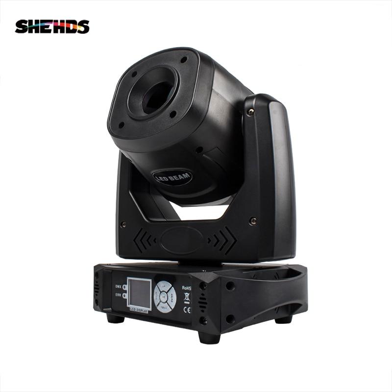 SHEHDS Bulb LED Spot 100W Light Colorful 7 Dynamic&6 Static Pattern Focus DMX512 For Discos DJ Bar Theater Concert Effect Light