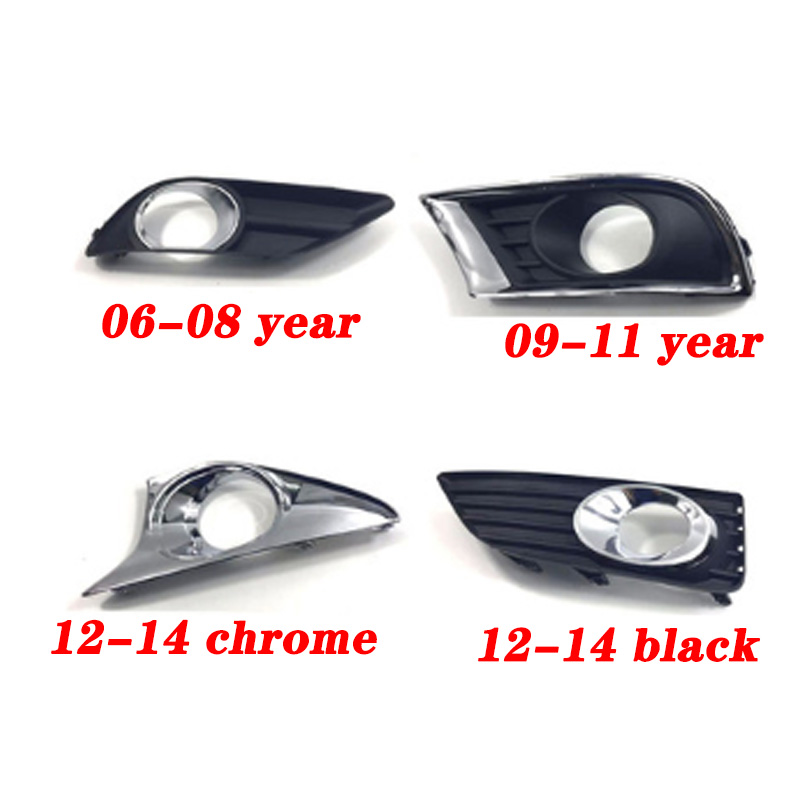 2x Fit Toyota Camry XV40 2007 2008 2009 Bumper Lower Fog Light Grille Cover Trim