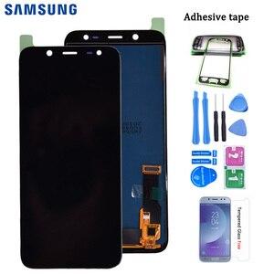 Para samsung galaxy j6 2018 j600 j600f j600y tela lcd e montagem pannel de vidro toque versão tft pode ajustar o brilho|LCDs de celular|   -