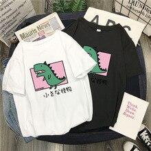 Summer T-shirts Women Tee Tops Short Sleeve White Tshirt Harajuku Female T-