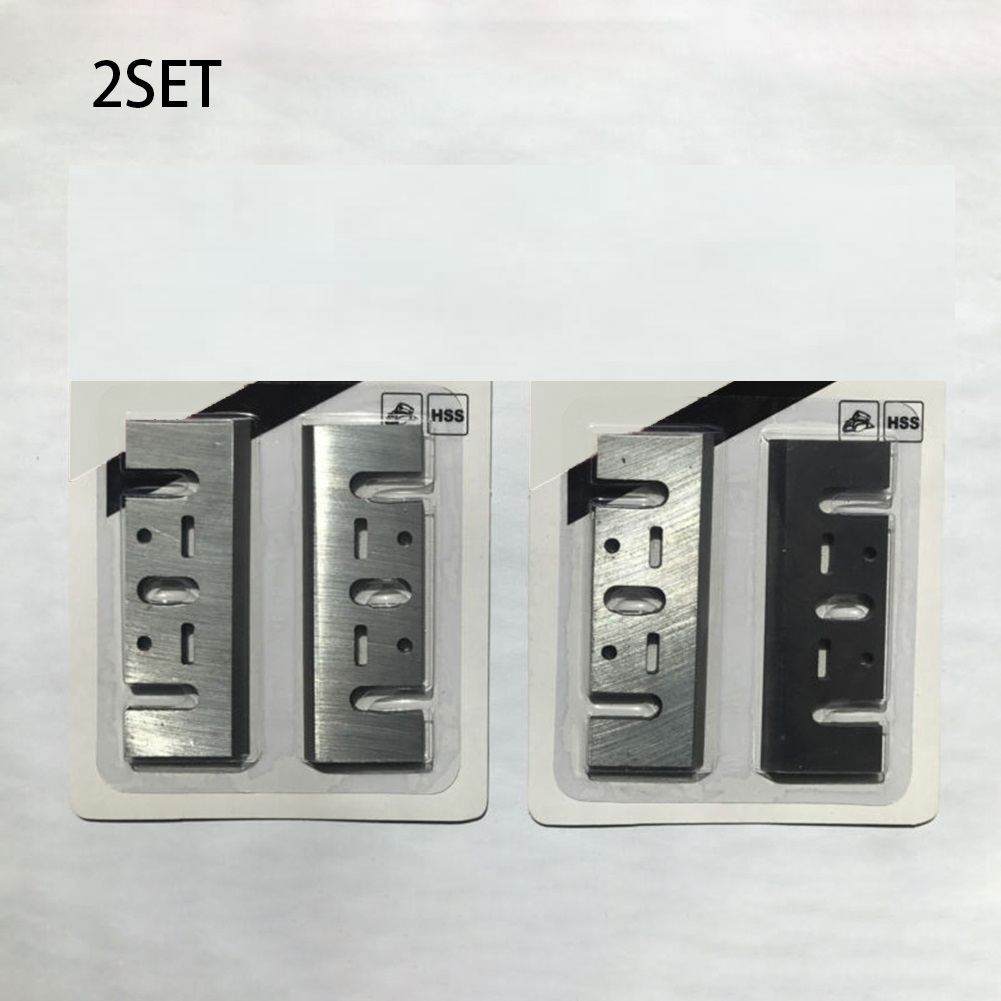 4pcs 82mm Planer Blades 3-1/4 Inch Reversible Wood Planer Woodworking Machinery Parts For Makita. 1900B1100 Electric Planer