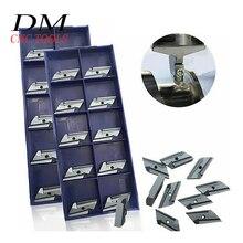 10 قطعة KNUX 160405R/KNUX 160405L أداة القطع إدراج الصلب تحول كربيد تحول شفرة