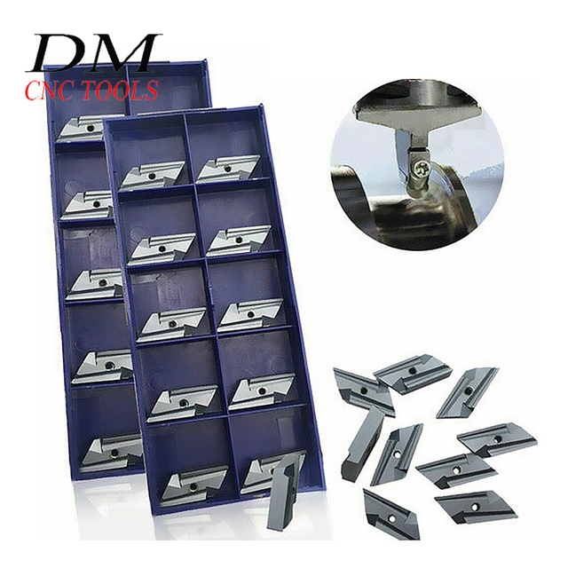 10pcs KNUX 160405R/KNUX 160405L CUTTING TOOL inserts STEEL TURNING Cemented carbide Turning blade