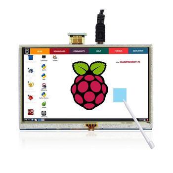 Pastall 5 Inch Raspberry Pi Screen Touchscreen 800x480 TFT LCD Display HDMI Interface for Raspberry Pi 4B 3B+ 3B 2B raspberry pi 3b 5 inch lcd hdmi touch scree 800x480 tft 5 display screen with acrylic case for raspberry pi 2 raspberry pi 3b