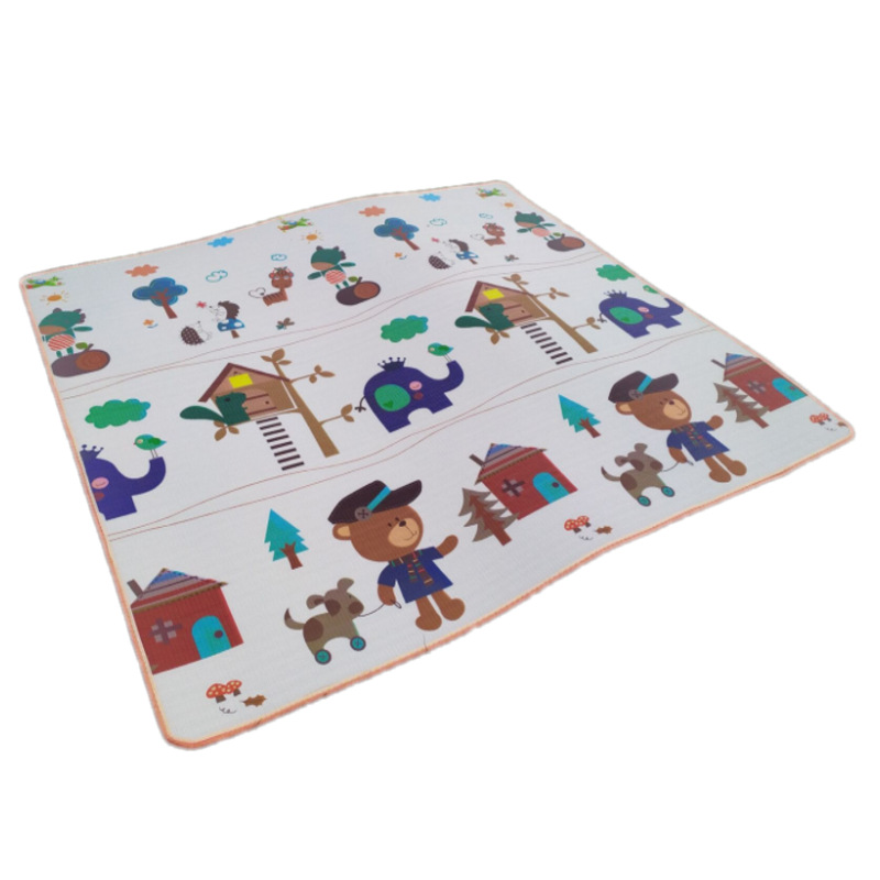 Baby Play Mat 200 180 0 5cm Crawling Mat Double Surface Baby Carpet creative cartoon design