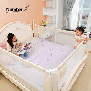 Image 2 - folding safety baby security gate child bed rails crib  fence for babies barrier childrens playpen kids corral playground  baby