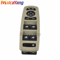 Yellow Panel Car 254000015R New Electric Power Window Switch Fits For Renault Megane Laguna 2008 2016