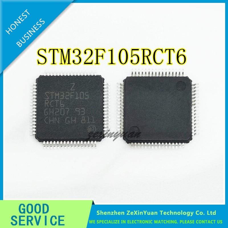 10PCS 20PCS 50PCS STM32F105RCT6 STM32F105RC STM32F105RCT6TR LQFP64 Original IC